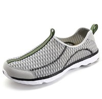 Wholesale Mesh Light Cover - Fashion 2017 new mesh plus size sandals swimming wading shoes casual light leakage sandals quick drying breathable wading shoes