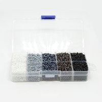 Wholesale Mixed Seed Beads - 8 0 Glass Seed Beads Opaque Colours & Lustered & Ceylon Round & Silver Lined Mixed Color about 3mm in diameter Hole: 0.8mm