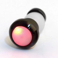 üst uç adet toptan satış-1 Adet Yüksek Kalite Emniyet Bisiklet Bisiklet Dönüş Sinyali Kolu Bar Sonu Fiş LED Kırmızı Işık Lamba Ücretsiz Kargo