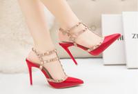 Wholesale Sparkling High Heel Stilettos - Brand Women Shoes High Heels Women Pumps 34-39 Sparkling Fashion Pumps 12CM Stilettos Pointed Toe Wedding Shoes For Woman
