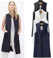 Wholesale long white cardigans shawls - Women Autumn Sexy Cardigan Jacket Shawl Long Blouse Women's Vests Tops2017 free shipping