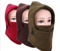 Wholesale Thermal Face Protection - Autumn winter thermal protection face head cover outdoor cycling anti-wind mask CS hat with a heavy head cover