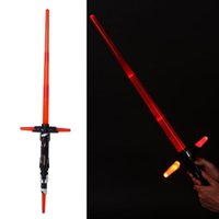 Wholesale-Cosplay Star Wars A Força Desperta Kylo Ren Lightsaber w / LightSound Espada