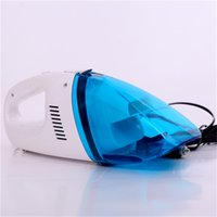 Wholesale Mini Car Dust Collector - Wholesale-New Mini Powerful 60w Portable Car Vacuum Cleaner Car Dust Collector Cleaning Dry Wet Amphibious Handheld Car Vacuum Cleaner12v
