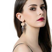 Wholesale Hooks Earings - Fashion Triangle Statement Earring Hooks Vintage Bohemia Punk Geometric Female Wedding Party Dangle Earings For Teen Girls Wholesale Jewelry