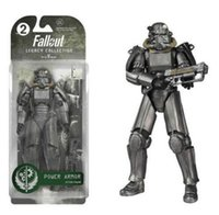 "Wholesale Figured Out - Two Colors Fallout 4 PVC Action Figure 8"" Power Armor Out of Clothing Toys Gifts Collections Displays Brinquedos"