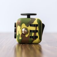 Wholesale Cube World Toys - Decompression Toy Camo Fidget Cube The World First American Gag Toys Decompression Anxiety Toys Free Shipping