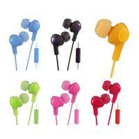 headset ohne mikrofon großhandel-Gummiartige gummiartige Kopfhörer-Ohrhörer HA-F160 HA F160 Bass DJ-Kopfhörer 3.5mm Kopfhörer ohne MIC für Iphone 6 5 Ipad Samsung HTC mit Kleinkasten