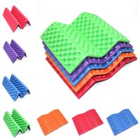 Wholesale Red Chair Seat Pads - 100pcs Outdoor Portable Foldable XPE Foam Waterproof Cushion Garden Cushion Seat Pad Chair for outdoor Cushion IB103