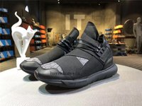 Wholesale Eva Ninja - new top Top Quality Y-3 Qasa High Vista Gray Running Shoes Y3 Qasa Ninja Shoes Y-3 Qasa High Casual Shoes size us5.5-12