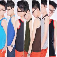 Wholesale Wholesale Chest Vest - Wholesale- Les Lesbian Tomboy Chest Binder Undershirt Slim Fit Vest Tops XS-XXL