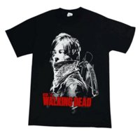 The Walking Dead Daryl Dixon Bandana Logo Moda Uomo Cotone T-shirt Graphic Screen Print Tee Shirt Streetwear