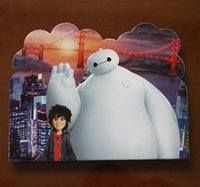 Wholesale psc Cards Envelops Envelope Shape Baymax Design Invitation Card Child Birthday Festival Supplies for invitation Card