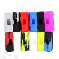 Wholesale Aegis Case - Aegis 100w Silicon Case Aegis Skin Cases Colorful Soft Silicone Sleeve Cover Skin For Aegis TC Box Mod 100W DHL Free