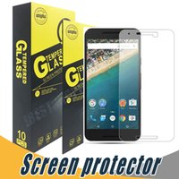 Wholesale anti shock screen protector - Tempered Glass Shock Proof 9H 2.5D Screen Protector Film For LG Stylo 2 LS775 Xpower Xpower2 Xmax Zero V3 Lv3 X004 X Style