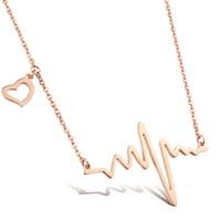 Wholesale Trendy Gold Jewellry - women Necklace Jewelry Wholesale Stainless Steel Trendy Long Chain Necklace Wholesale women Necklace Jewelry Gift Jewellry