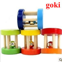 Wholesale developmental toys for children for sale - Group buy Funny Wooden Toy Baby Kid Children Intellectual Developmental Educational Wooden Toys Spiral Rattles for Babies Brinquedos