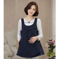 Wholesale Anti Radiation Maternity - SD104 2016 Maternity clothes pregnancy Silver fiber radiation protection suit maternity clothes maternity dress