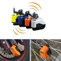 Wholesale Protection Cars - Mountain Bike Lock Car Alarm System Lock Anti-theft Alarm Lock for Electric Vehicle and Motorcycle Parts Brake Theft Protection