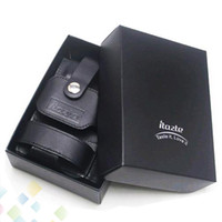 Wholesale Mvp Electronic Cigarettes - Wholesale Real Leather Case Innokin Itaste Electronic Cigarette Leather Case fit for Itaste MVP Itaste VTR