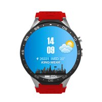 Wholesale Google Android Watches - FREE SHIPPING KingWear KW88 3G WiFi Android 5.1 Smart Watch Bluetooth SmartWatch MTK6580 512MB 4GB GPS Google Play 2.0mp for Android iOS