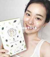 Wholesale Authentic Face Masks - South Korean authentic A. By Bom super baby ice clotting leaf cleansing leaves mask refreshing and soothing moisturizing 10pieces