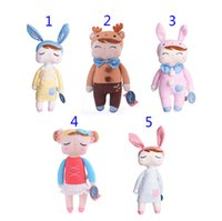 Wholesale Metoo Cartoon - 5 Style 34cm metoo Cartoon Stuffed Animals Angela Plush dolls toys 13.6Inch children Christmas gift Plush dolls toy B