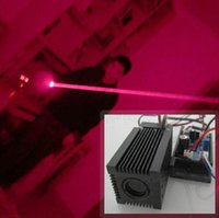 Wholesale Ttl Board - New arrival Fat Beam 150mW 650nm 660nm red laser module with TTL driver board with Fan