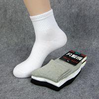 Wholesale Socks Slippers Warm Women - LoRun 5Pair Lot Sports Gym Men Women Yoga Socks Slippers Solid Color Breathable Running Socks Summer Sweat Foot Warm Protector Outdoor Socks