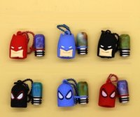 Wholesale Batman Resins - 510 Thread Resin Drip Tips with Batman Spiderman Dustproof Plastic Silicone Cap Drip Tip for E Cigs Atomizers Rda Rba Vape Mouthpieces