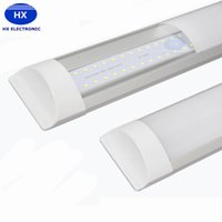 Wholesale Led Lights Fixtures Wholesale - 2016 New Surface Mounted LED Batten Double row Tubes Lights 2FT 4FT T8 Fixture Purificati LED tri-proof Light Tube 20W 40W AC 110-240V