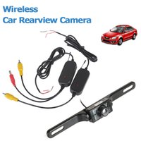 Wholesale Wireless Rear View Camera Waterproof - New Arrival Wireless Waterproof 420 TVL CMOS Car Rear View Camera Supports IR Night Vision CAL_019
