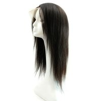 Wholesale Clearance Remy Hair - Clearance Price Hand Made Full Lace Wig with Adjustment Strap Silky Straight Natural Off Black 100% Chinese Virgin Remy Hair