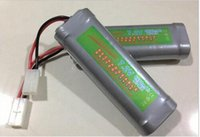 Wholesale Power Rc - 7.2V Battery 6800mah NiMH Batteries Pack For RC Car Truck Buggy Boat Tank Ni-Mh Baterias gray supper power
