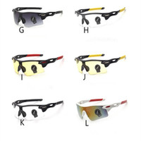 Wholesale Night Goggles Sunglass - Fashion Cycling Bicycle Bike Sunglass Explosion-proof PC Sunglasses Unisex Men Safety Outdoor Sports Sunglass Night Vision Goggles Eyewear