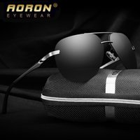 Wholesale Aluminium Wrap - Aluminium Mens Polarized Sunglasses Outdoor Sports Eyewear Fashion Driving Sun Glasses For Men Top Quality HD Fishing Cycling Goggle