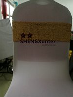 Wholesale Gold Wedding Chair Sash Buckles - Gold Sequin Chair Band \ Chair Sash Bow Include Buckle For Wedding Spandex Chair Cover
