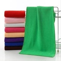 Wholesale Salon Tables - Cleaning Cloth 30*70cm Fast Drying Water Uptake Auto Clean Towels Superfine Fiber Kitchen Cleanliness Beauty Salon Towels 500pcs OOA2128