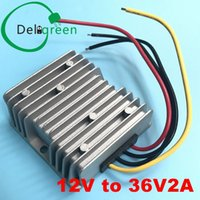 Wholesale step up boost module resale online - 12V to V2A step up converter boost module power supply with