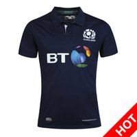 Wholesale Heat Jerseys - Rugby Union 2016 2017 Rugby jerseys World Cup Scotland Country new High-temperature heat transfer printing jersey Rugby Shirts