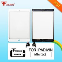 OEM de alta calidad A +++ para iPad Mini 1 2 Pantalla táctil de vidrio con / sin Home Button IC Full Assembly Touch Panel