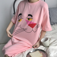 2017 mode Marke Neue Sommer Frauen T-shirt Kurze Rosa Sleeved Kleid Basis Lange Taille Rock Student