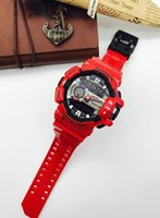 Wholesale Watch Runner - With Original Box Bags Mens g g400 sports watches gba 400 multifunction shock watch LED Runner ga110 100