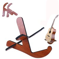 Wholesale Floor Frame - Wooden Removable Guitar Stand Frame Floor Rack Holder For Electric Acoustic Bass guitar supporter