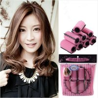 Fashion Magic Foam Sponge Hair Curler Sponge Hair Rollers Sticks DIY Bendy Hair Styling Tools Rouleaux de coiffure