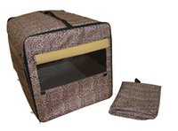 Yard Signs case dog house - Dog Cat Pet Bed House Soft Carrier Crate Cage Playpen w Case L