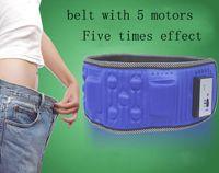 Wholesale Electric Weight Loss Belt - X5 massage belt vibration fat burning slimming belt electric weight loss slimming belt