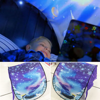 Wholesale Tent Christmas Lights - Outdoor Dream Tents Winter Wonderland Foldable Bed Tents Camping Hiking Christmas Gifts With lights C3196