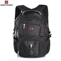 Wholesale Men Traveling Bags - Swissgear Laptop Backpack Men's Travel Backpack Waterproof Nylon School Bags for Teenagers Camping bag Traveling bag for man and women