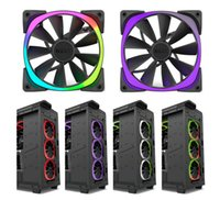 Wholesale NZXT Aer RGB CM CM fan HUE controller intelligent set NZXT Aer RGB chassis fan with NZXT RGB light technology